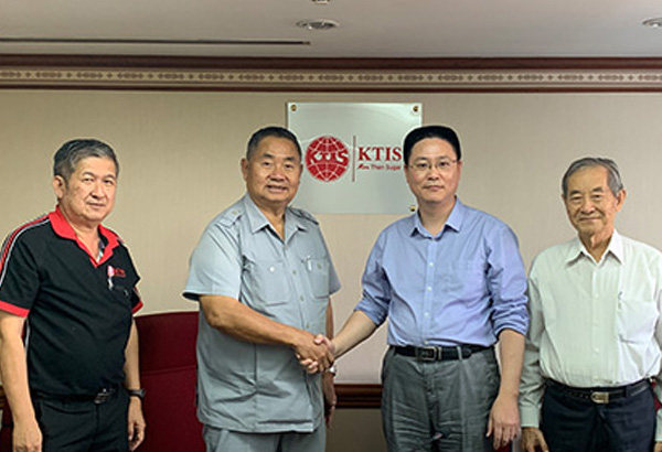 Thailand KTIS Group purchased 50 EAMC fully automatic pulp molding production line